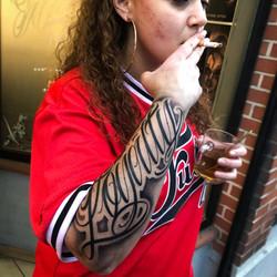 Lettrage tatoueur toulouse chicanos