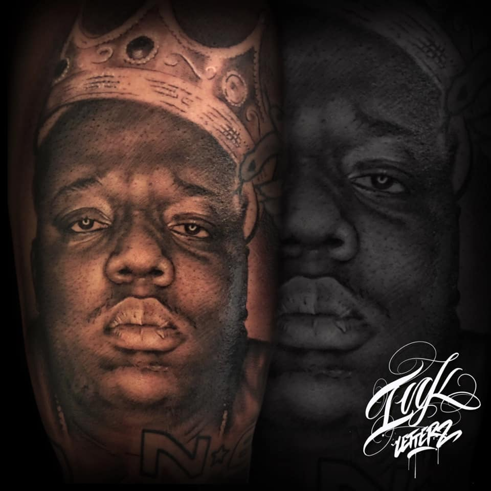 notorious portrait tattoo toulouse