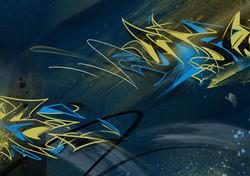 art numérique graffiti digital