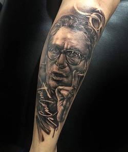 claude nougaro tattoo toulouse