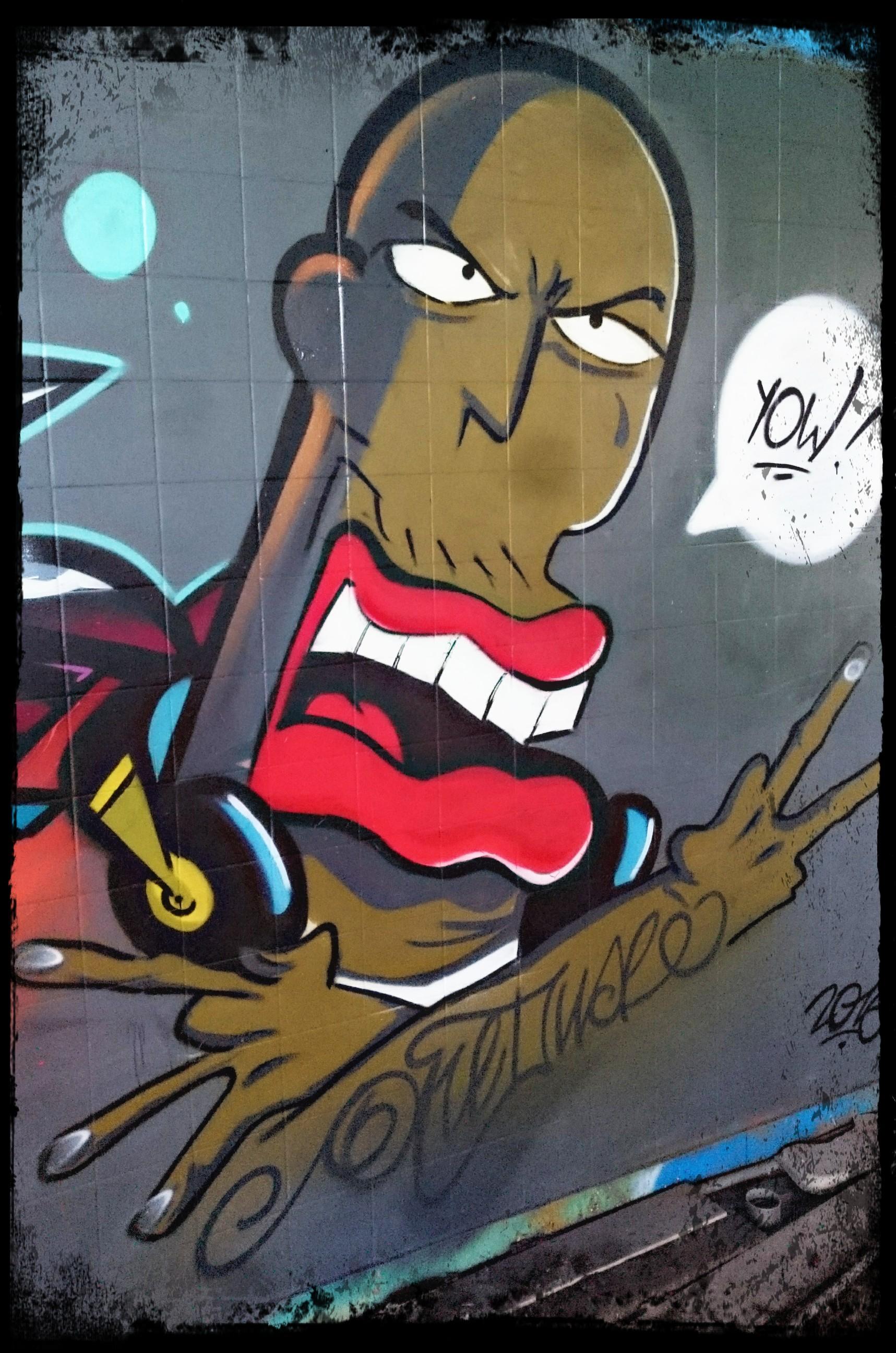 oneduse graffiti les lascars