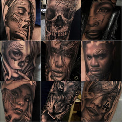tatoueur toulouse realisme portrait