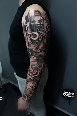 tattoo mexicain shelby rose chicanos