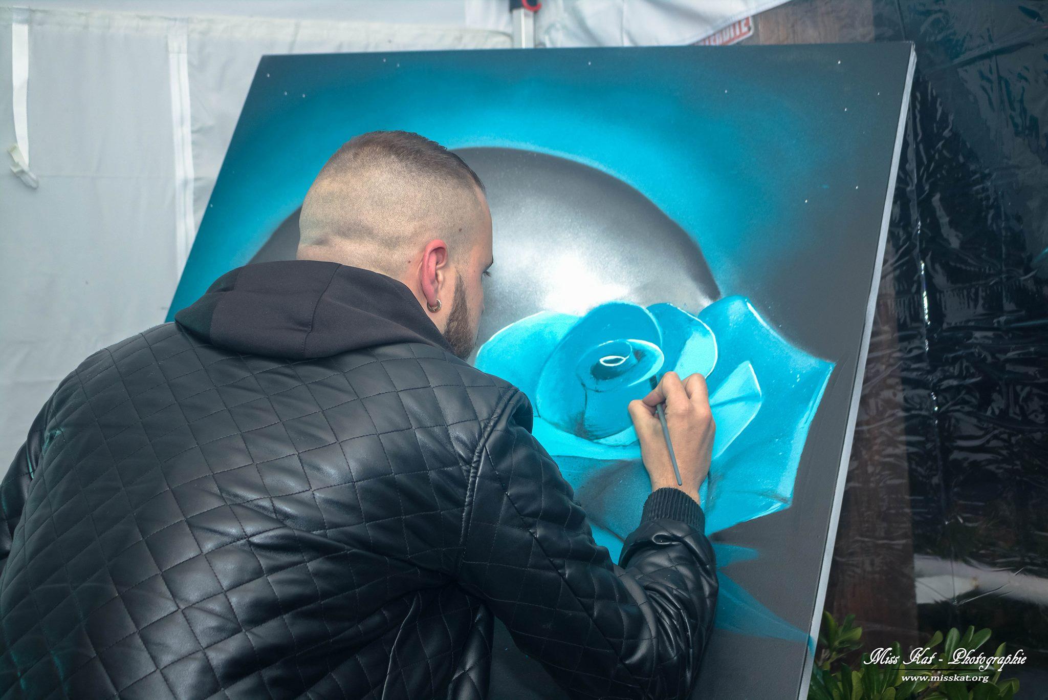 live painting la voile blanche 31