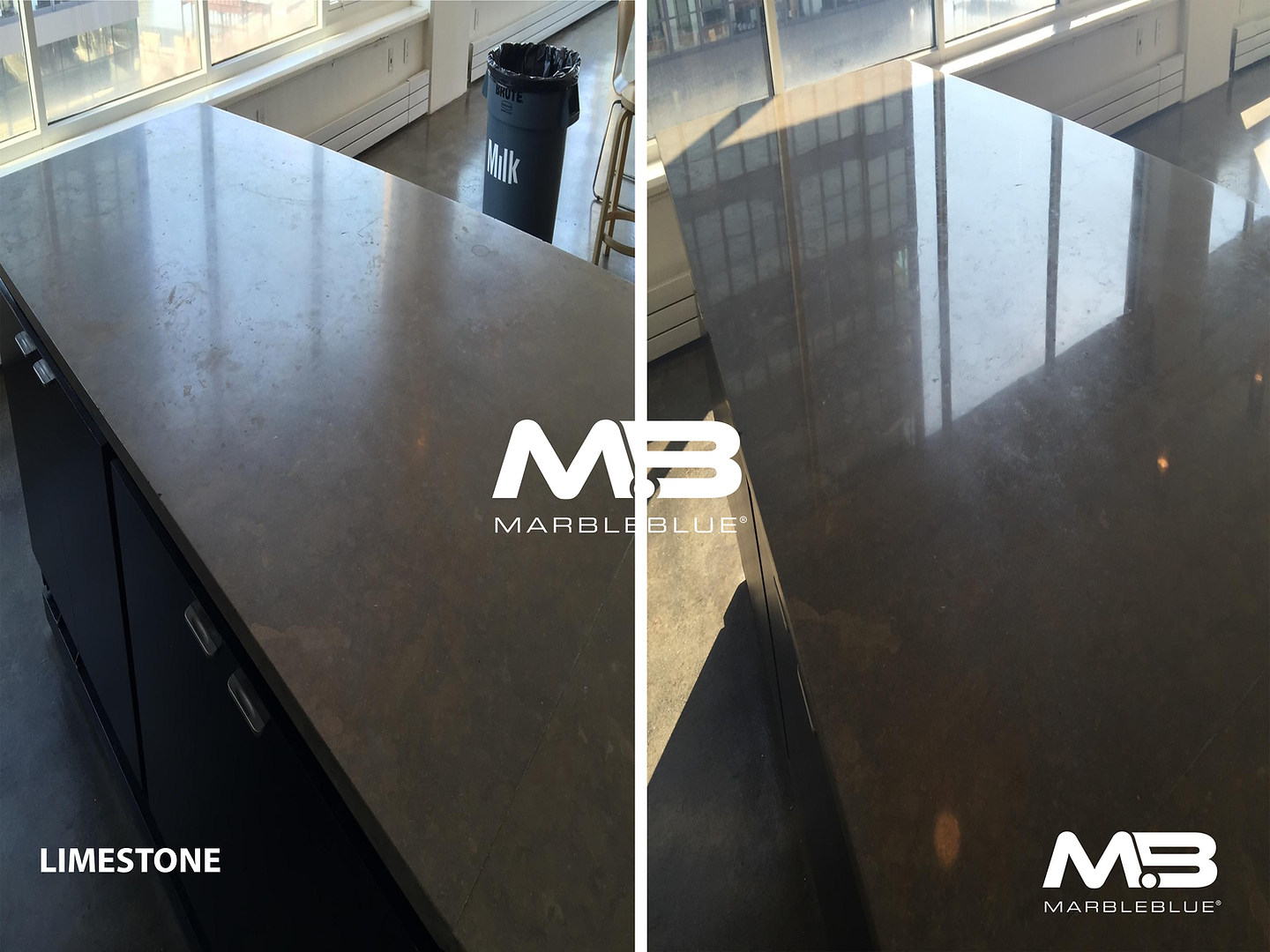 Before and After 2017 MB Limestone Refin