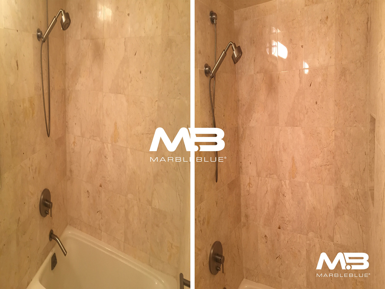 Marble Shower Restoration