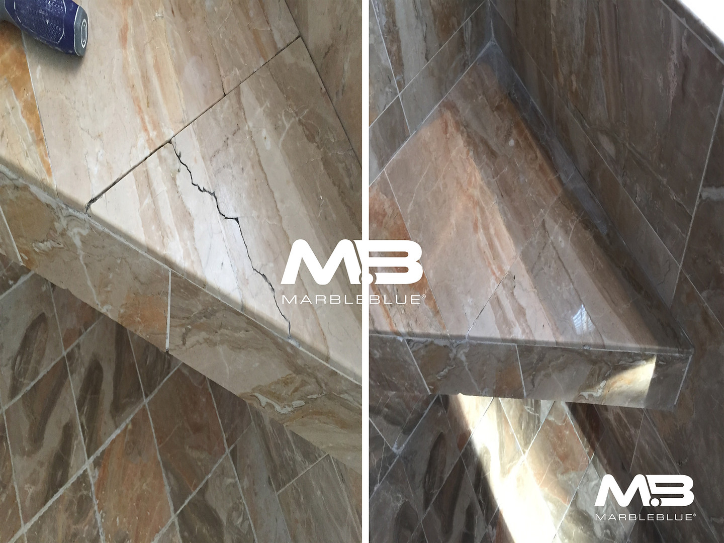 Before and After 2017 MB Marble Crack Re
