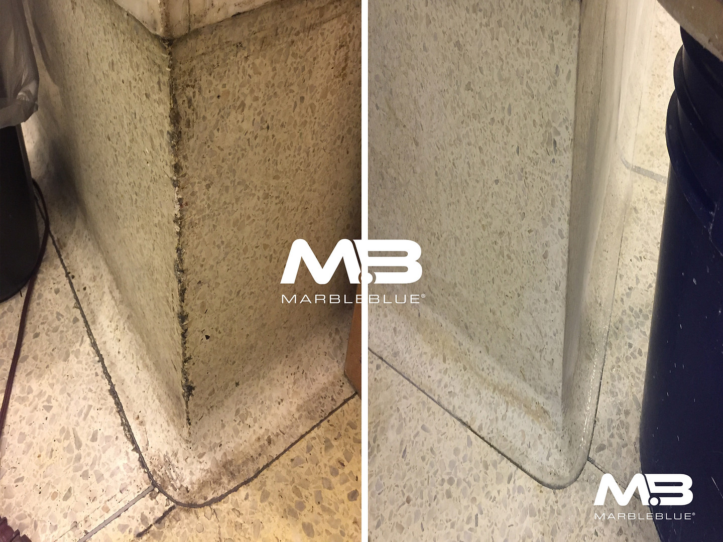 Before and After 2017 MB Terrazzo Basebo