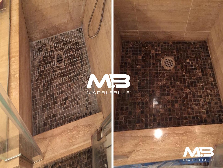 Stal Shower Floor Restoration
