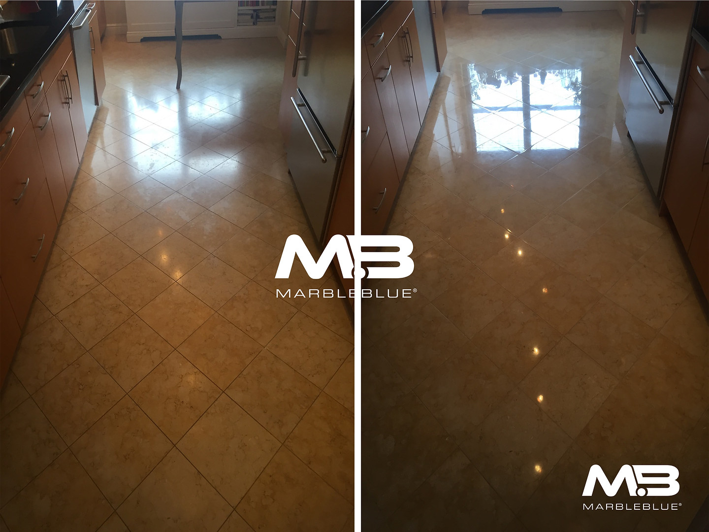 Before and After 2017 MB Marble and Lime