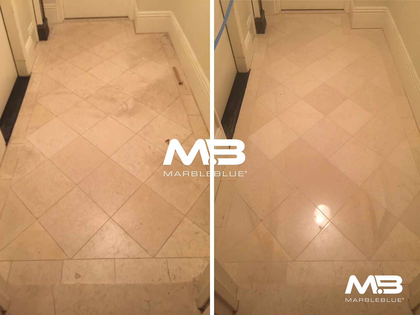 Before and After 2017 MB- Marble Floor R