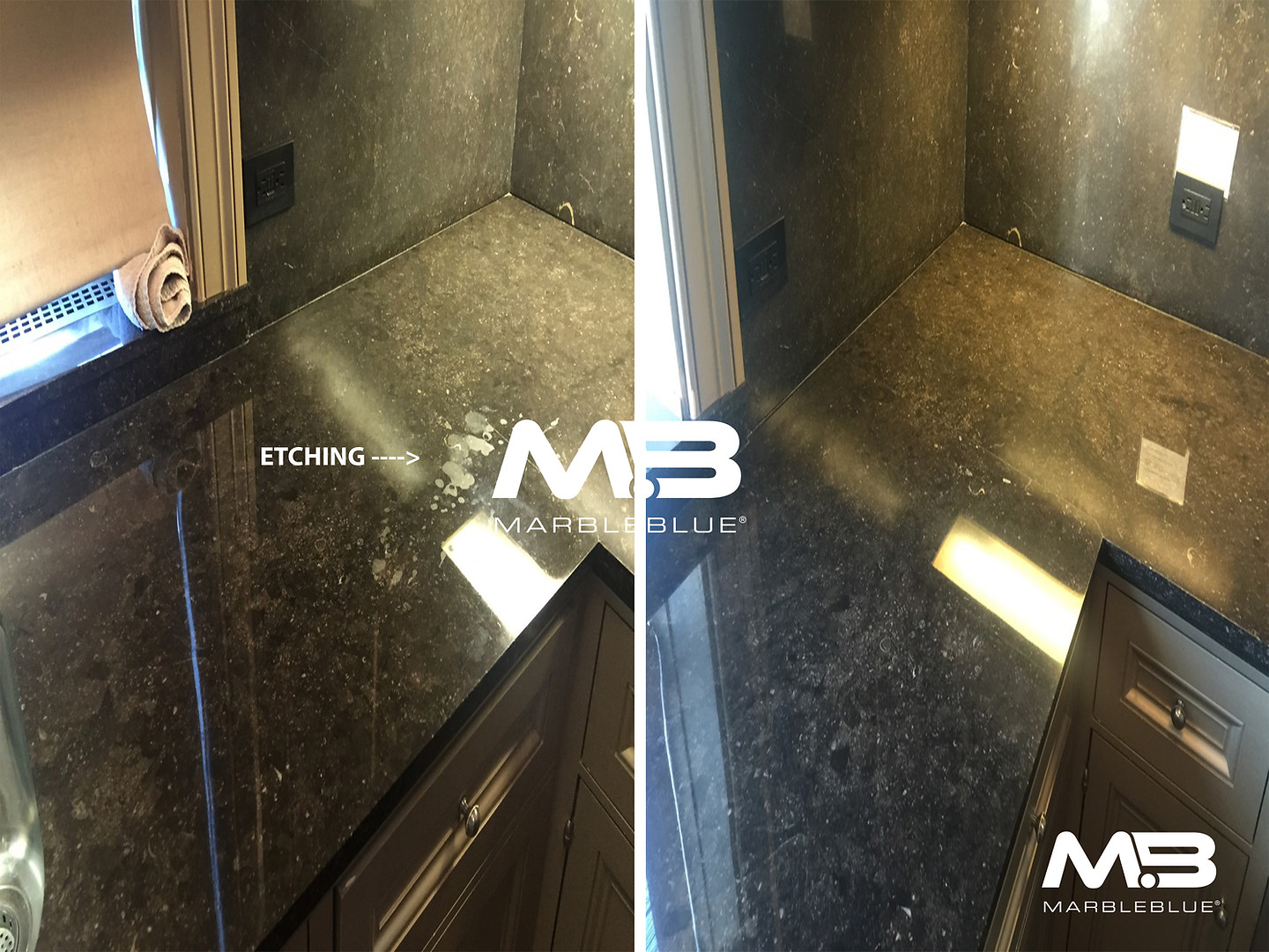 Before and After 2017 MB Marble Etch Mar