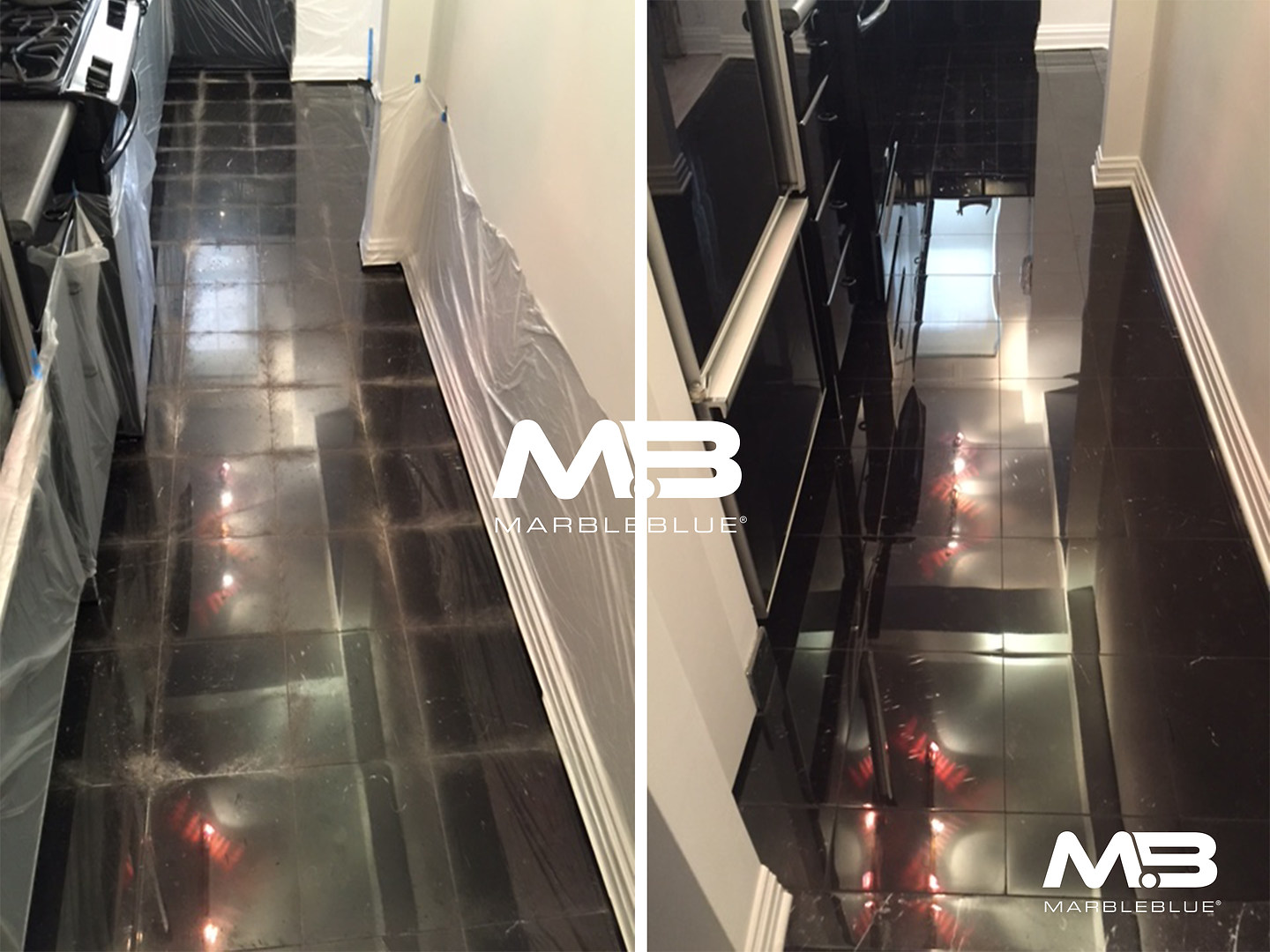 Before and After 2017 MB Blackk marble K