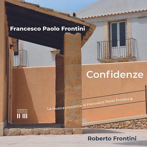 Confidenze by Francesco Paolo Frontini,  CD 76min, Roberto Frontini piano