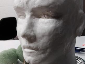Beginning a new sculpture...