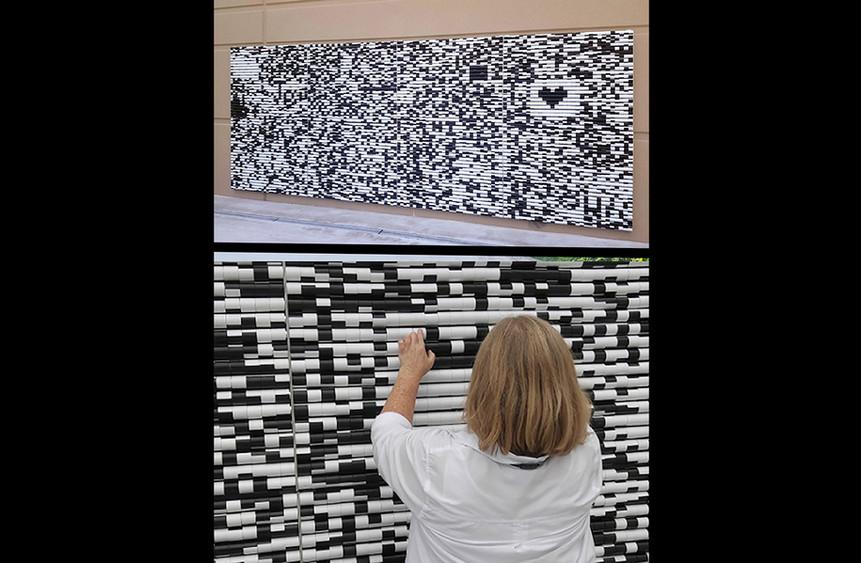 Pixel Twist (two views)