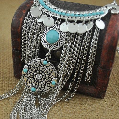 Gypsy Bohemian Style Tassel Necklace