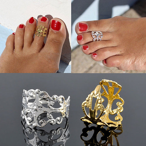 Gold / Silver Metal Toe Ring