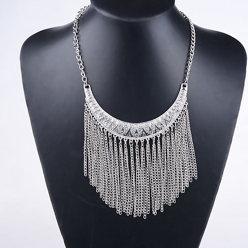 Tribal Collar Statement Necklace