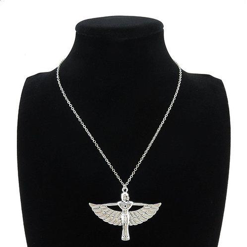 EWF Winged Goddess Necklace