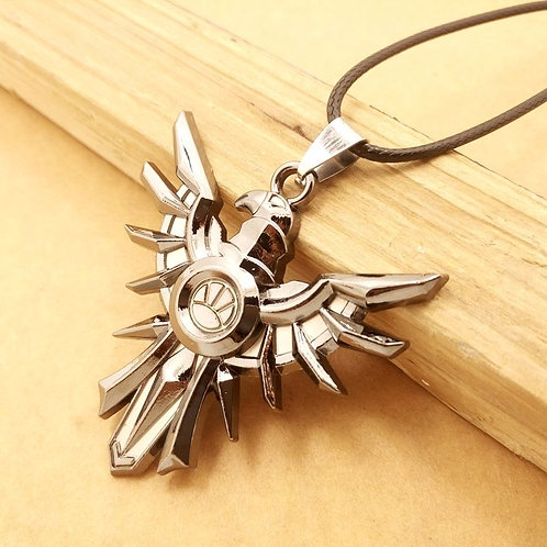 EWF Stainless Steel Phoenix Necklace