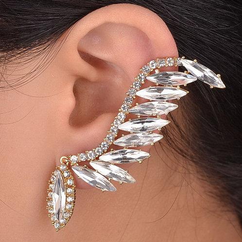 Chic Rhinestone Ear Cuff