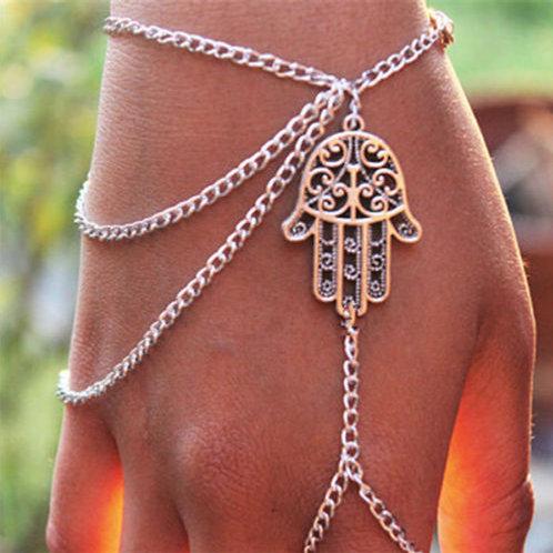 Sterling Silver Fatima Bracelet