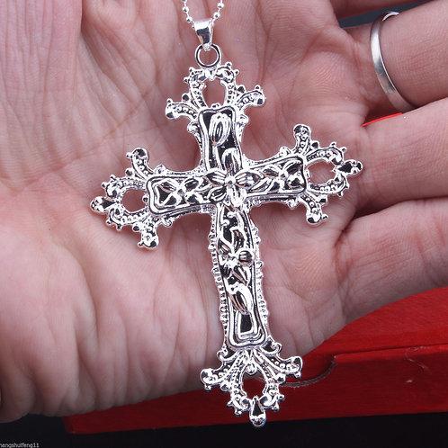 925 Sterling Silver Church Cross