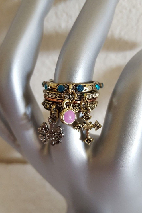 Vintage Style Stackable Rings