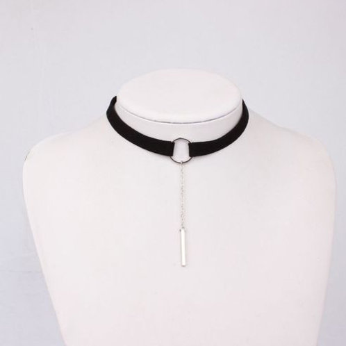 Black and Gold/Silver Choker Collar