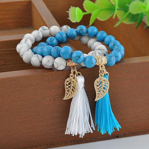 Turquoise Stone Mala Prayer Beads