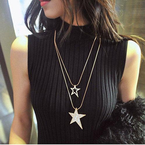 Shining Stars Layered Necklace