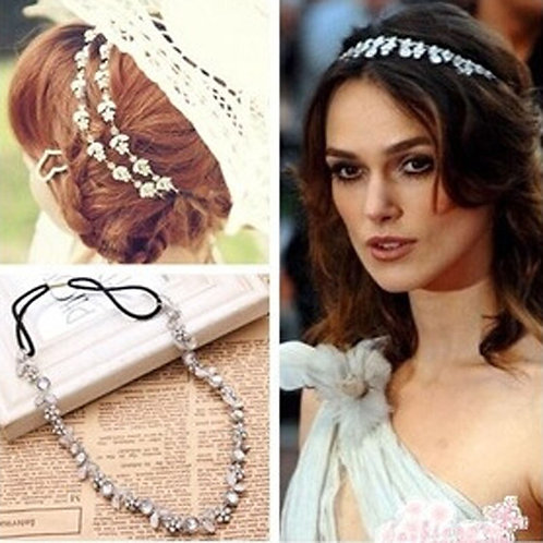 Chic Metal Rhinestone headband