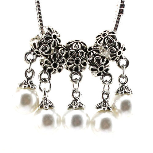 Tibetan Silver Pearl Pendant