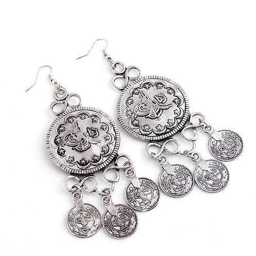 Bohemian Style Dangle Hook Earrings