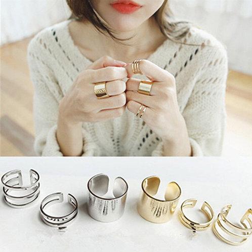 3Pcs/Set Midi Finger Knuckle Rings