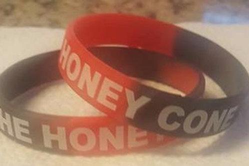 Honey Cone Rubber Bracelet