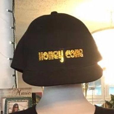 Ladies Black Honeycone Hat