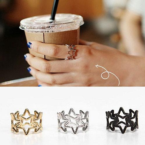 Shining Starz Midi Finger Ring