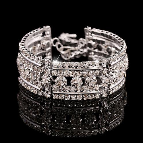 Rhinestone Crystal Bangle