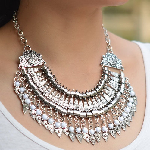 Bohemian Collar Statement Necklace