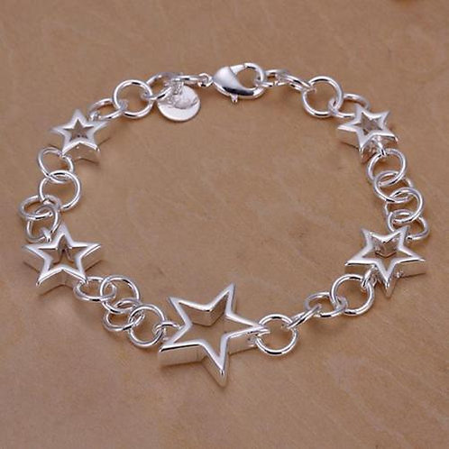 925 Sterling Silver Shining Starz Bracelet