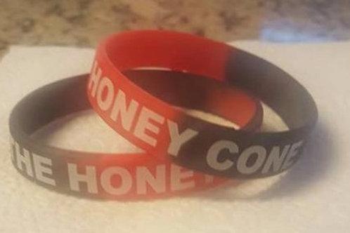 Honeycone Rubber Concert Bracelet