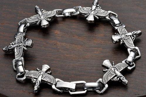 Stainless Steel EWF Link Bracelet