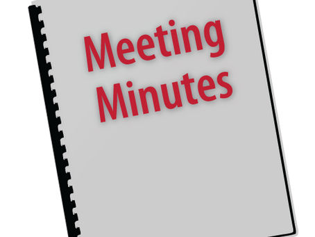 Minutes of AGM