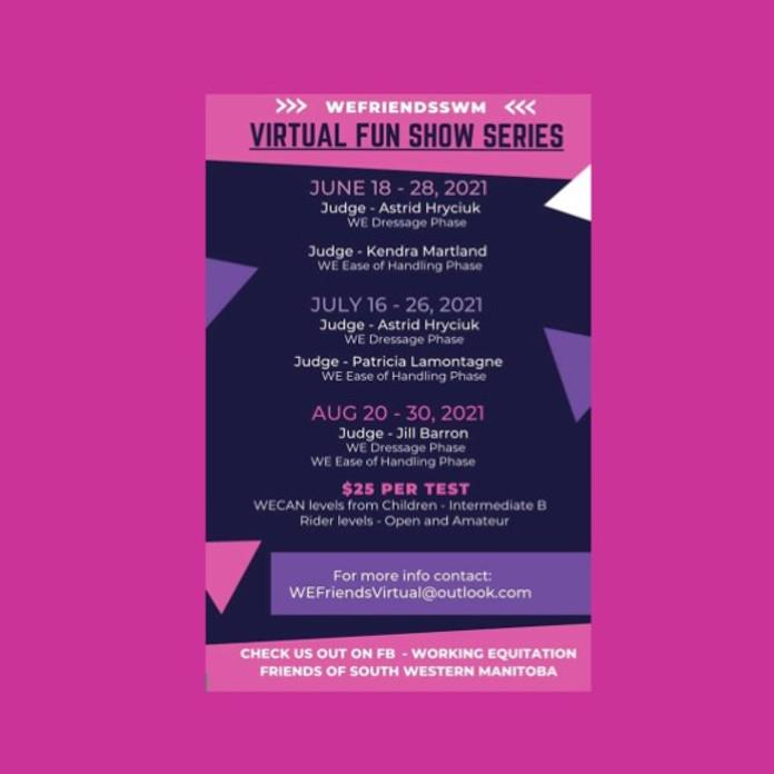 Virtual Fun Show Series, Show #4  WEFriendsSWM