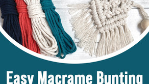 Easy Macrame Bunting
