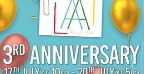 AALL & Create 3rd Anniversary Celebration at Hochanda