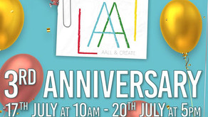 AALL & Create 3rd Anniversary Celebration at Hochanda