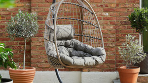 QVC's hanging egg chair is less than £300 – and it's still in stock